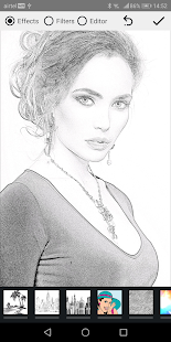 Pencil Photo Sketch: editor de fotos-efecto boceto Screenshot