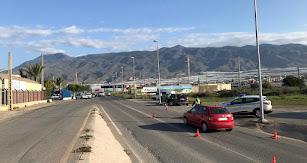 Control de la Policía Local en El Ejido.