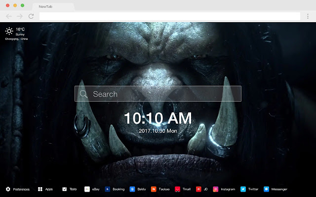 World of Warcraft New Tabs HD Themes