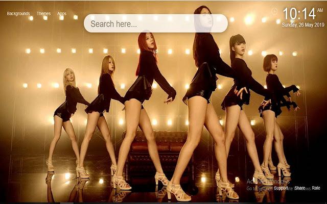 Kpop AOA Wallpapers HD New Tab