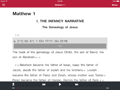 Bible: Dramatized Audio Bibles- screenshot thumbnail