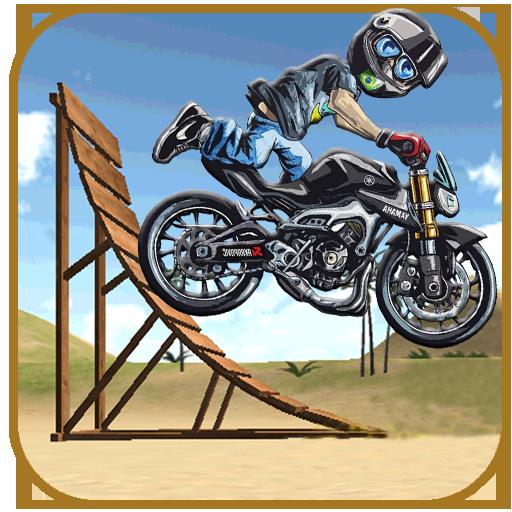 Crazy Stunt Racing Bike