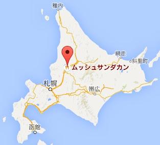 地図:ムッシュ SANDAKAN