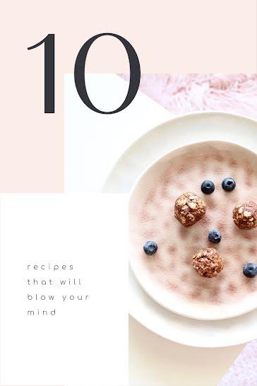 Ten Mind-Blowing Recipes - Pinterest Pin template