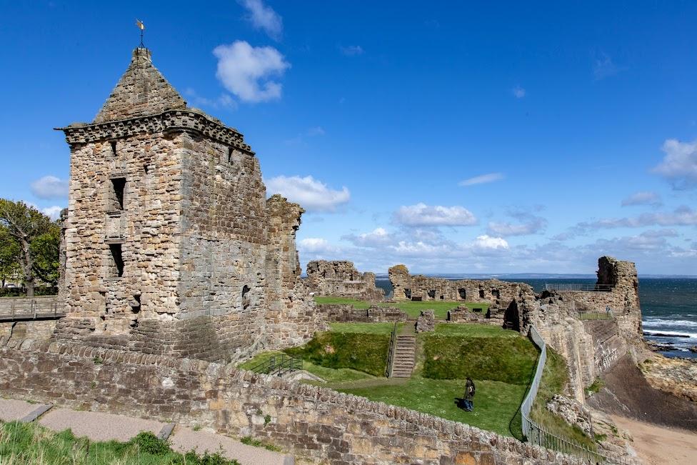 Szkocja, St Andrews Castle, szkockie zamki