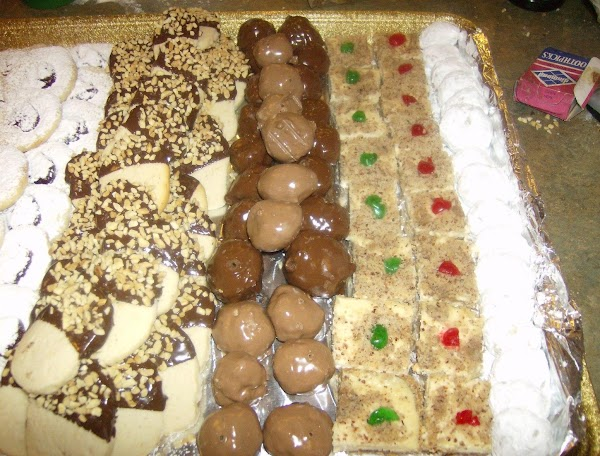 Chocolate Dipped Cookies/nut Fingers Recipe