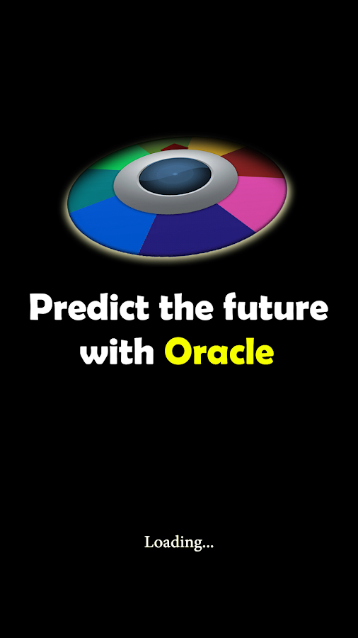 Predict the future with Oracle- screenshot