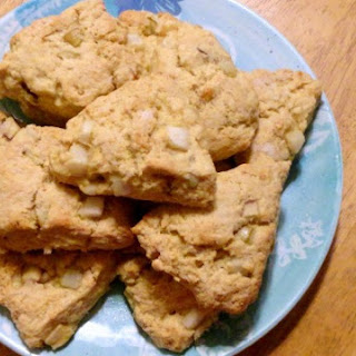 Apple Pear Scones
