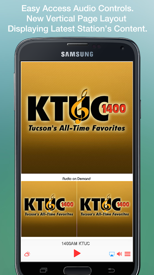 1400AM KTUC- screenshot