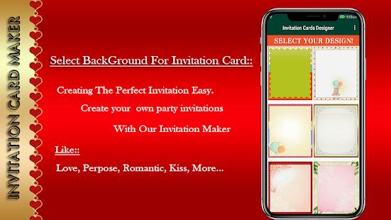 Invitation card maker for pc windows 7810 and mac apk 10 free invitation card maker for pc windows 7810 and mac apk screenshot stopboris Choice Image