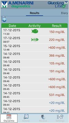 Glucolog Lite - screenshot