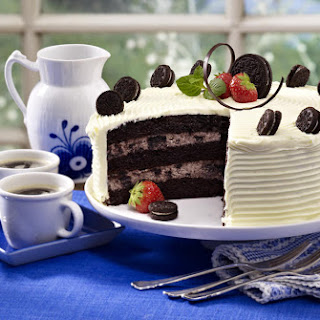 Cookies & Cream Cake.