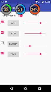 CPU indicator - náhled