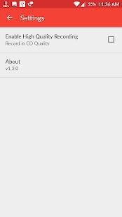 Voice Recorder - Lite Version Screenshot