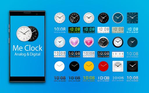 Me Clock widget 2 - Analog & Digital 4.0 Windows u7528 1