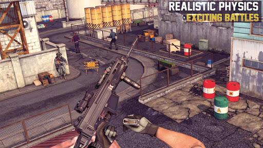 neuf pistolet tournage FPS 3D: action Jeux  captures d'écran 1