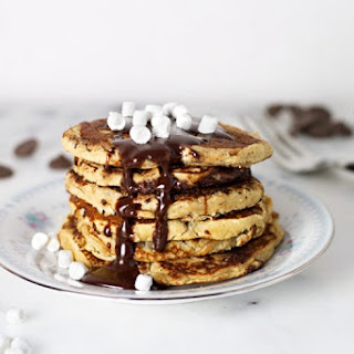 Healthy S'more Pancakes
