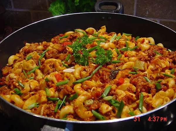 Macaroni Skillet Recipe