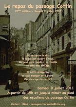 Photo: Samedi 9 Juil. 2011 - 28° édition du repas du passage Cottin