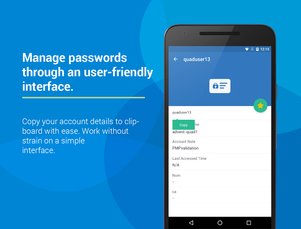 Password Manager Pro- screenshot