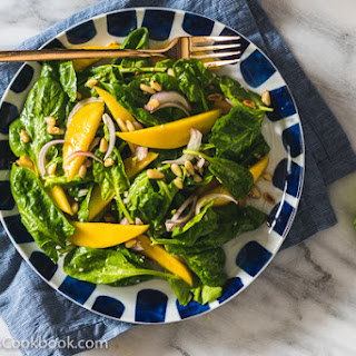 Spinach Salad with Mangoes