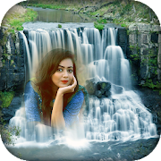 Waterfall Nature Photo Frame: natures Image Maker