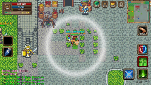 Laurum Online - MMORPG 2D  screenshots 3