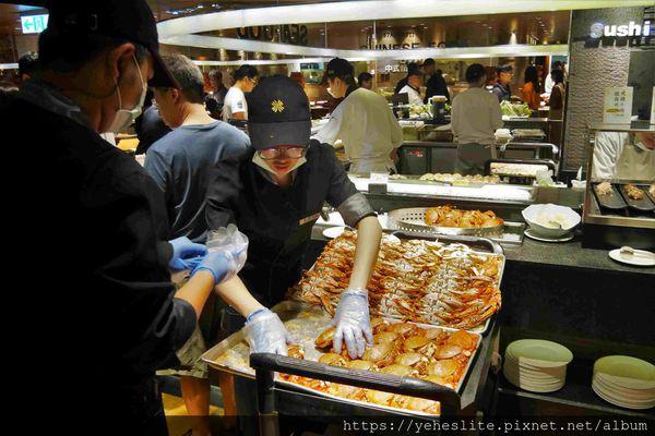 漢來海港巨蛋店- 海鮮食材富盛名,甜食糕點有亮點