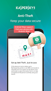 Kaspersky Antivirus  AppLock & Web Security- screenshot thumbnail