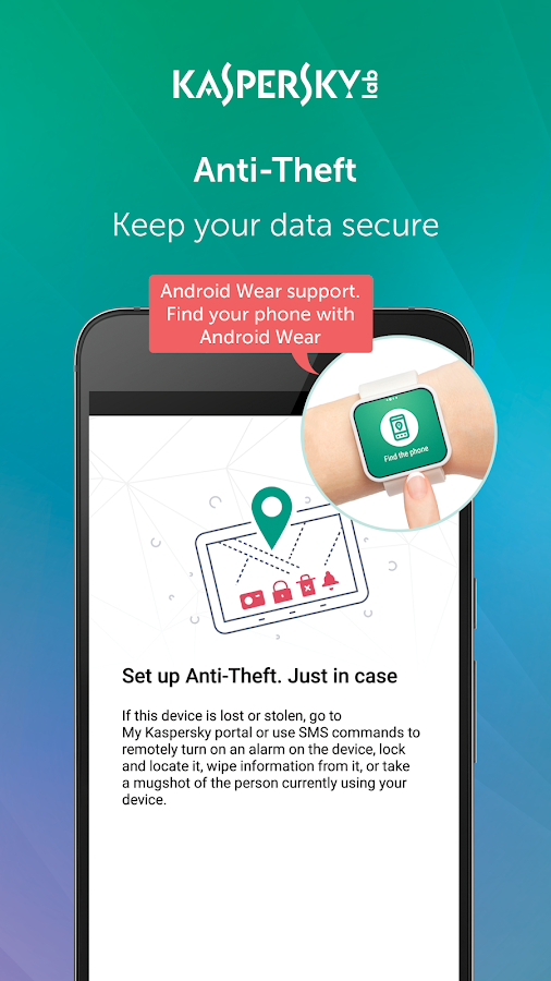 Kaspersky Mobile Antivirus & AppLock- screenshot