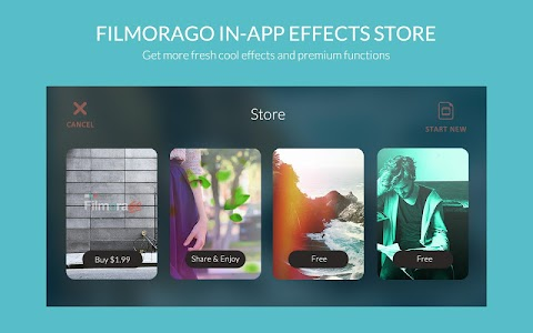 FilmoraGo - Free Video Editor screenshot 0