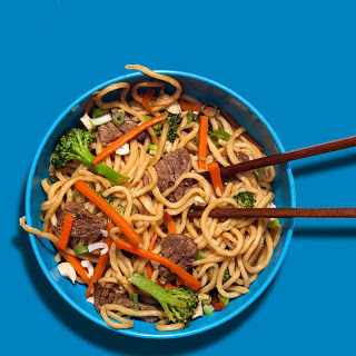 "Beef with Broccoli ""Takeout"" Noodles"