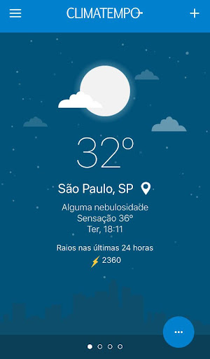 Climatempo - Radar meteorológico e muito mais! screenshot 1