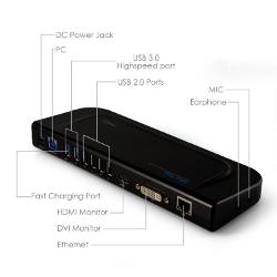 HooToo HT-UD01 USB 3.0 Universal Docking Station