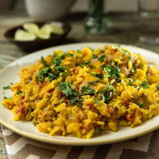 Slow Cooker Arroz Con Pollo Recipe