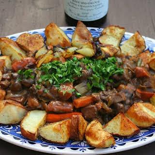 Bœuf Bourguignon Végétalien [Vegan, Gluten-Free].