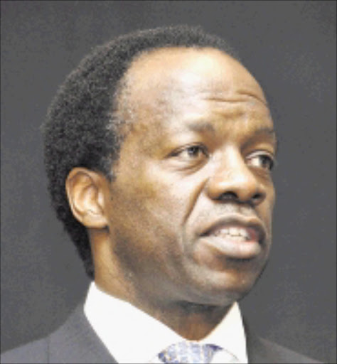 SHOWING INTEREST: Sizwe Nxasana. Pic: Robert Botha.27/02/2007. © Business Day