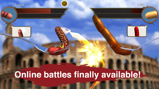 ApkMod1.Com Sausage Legend Online multiplayer battles + (Unlimited Gold Coins) for Android Adventure Game