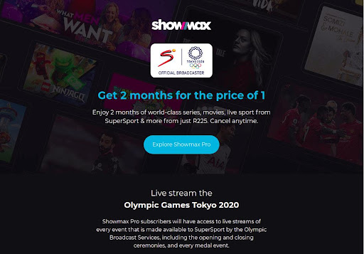 The Olympics are here and ShowMax Pro is offering a two for the price-of-one deal