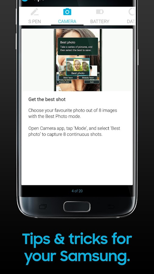 Samsung Galaxy Life- screenshot