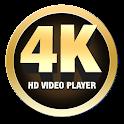 UHD 4k - HD 4k Video player icon
