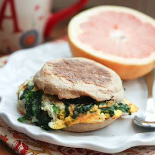 Spinach and Egg Breakfast Sandwich