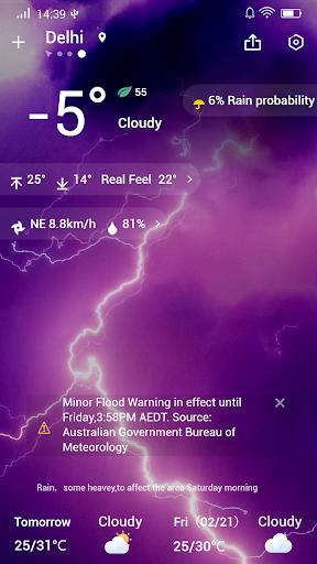 Weather Forecast 1.5.1 screenshots 4