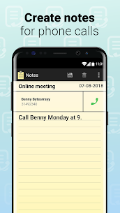 Notes with Caller ID 1.0.546 APK + MOD Download 1