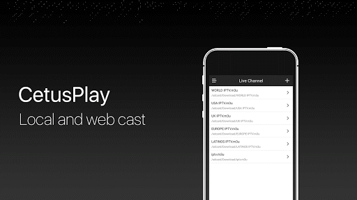 CetusPlay - TV Remote Server Receiver 4.3.2.1-For Android TV screenshots 4