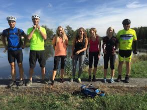 Photo: 11. cyklovyjížďka - cyklostezka kolem řeky Bečvy s vyjížďkou na hrad Helfštýn.