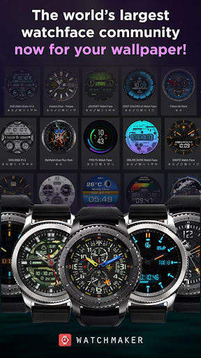 Screenshot for WatchMaker Live Wallpaper in Hong Kong Play Store