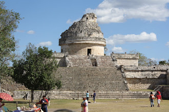Photo: Observatory at Chichen Itza