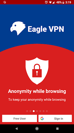 Eagle VPN - Super Fast VPN Proxy - Unlimited VPN 1.8.e.181022 screenshots 1