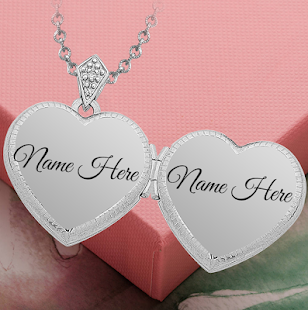 write name on locket apps on google play